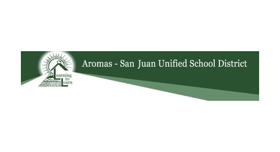 Aromas San Juan School District logo