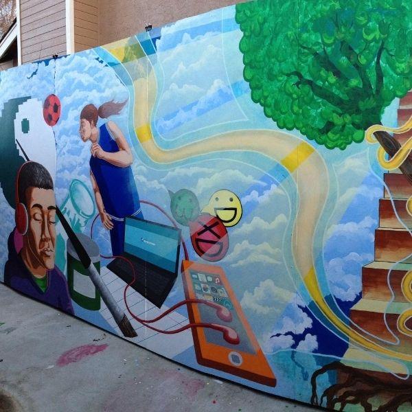 David Gutierrez Mural