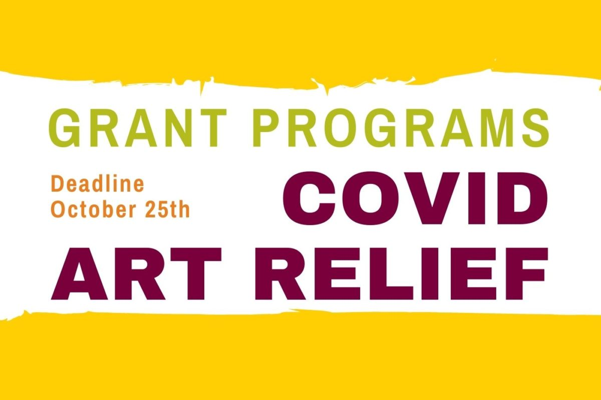 COVID Art Relief Grant Program