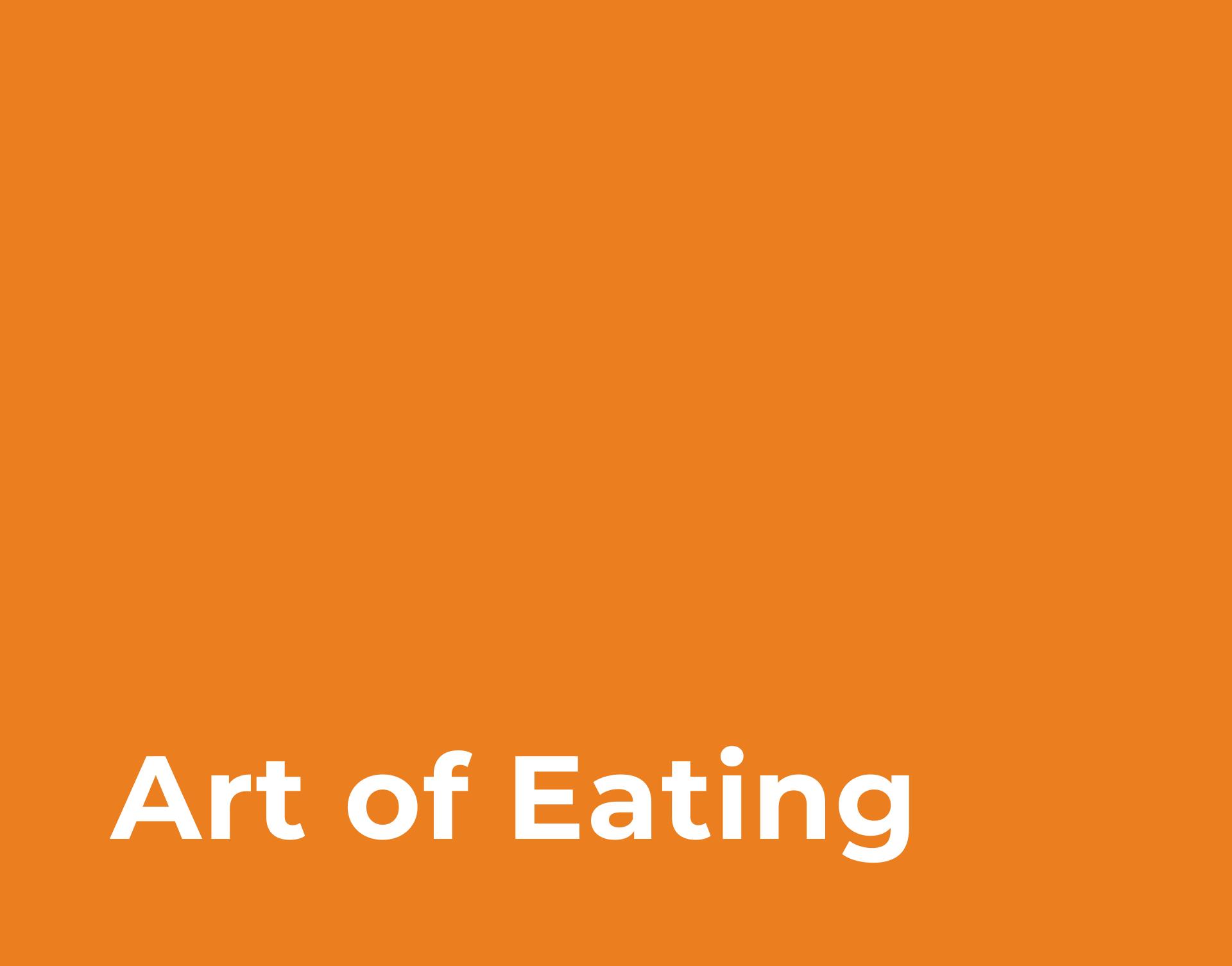 Art of Eating Block