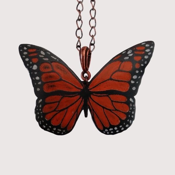 Laurie Tholen Butterfly Necklace