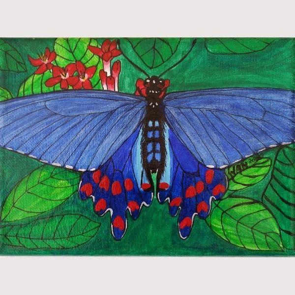 Linda Jan Wynne Butterfly