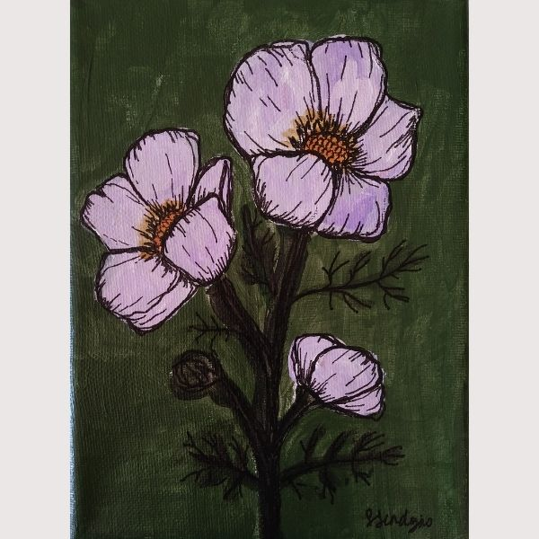 Sarah Sendejas Green Floral