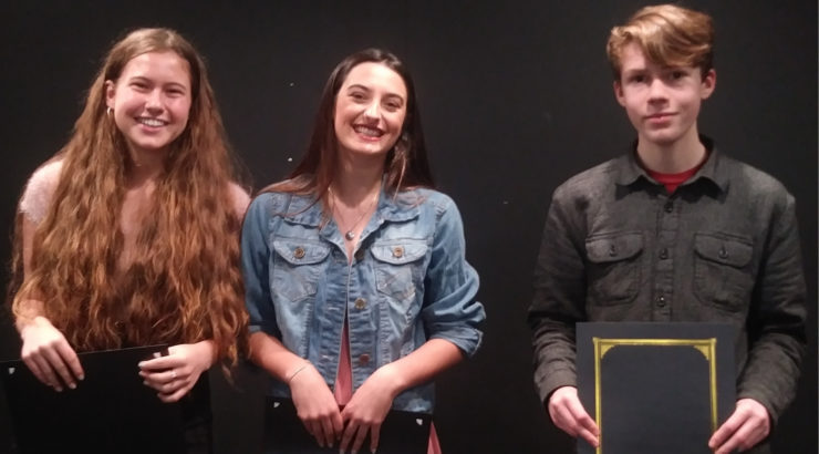Poetry Out Loud County Finalists 2018