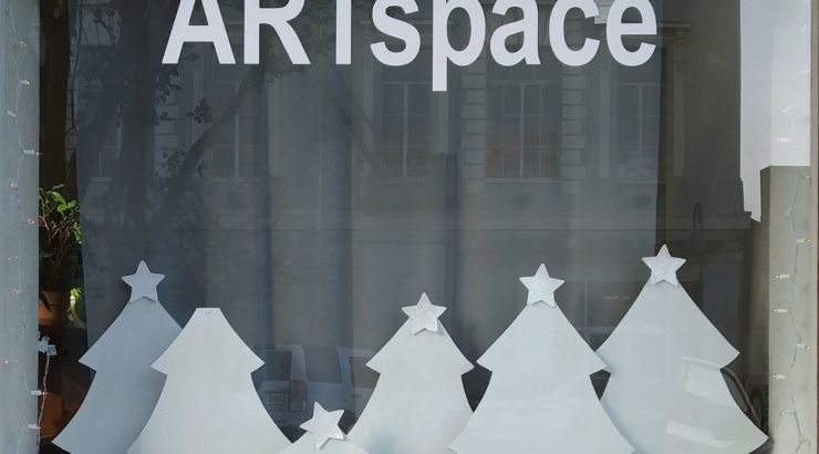 ARTspace Winter Windows
