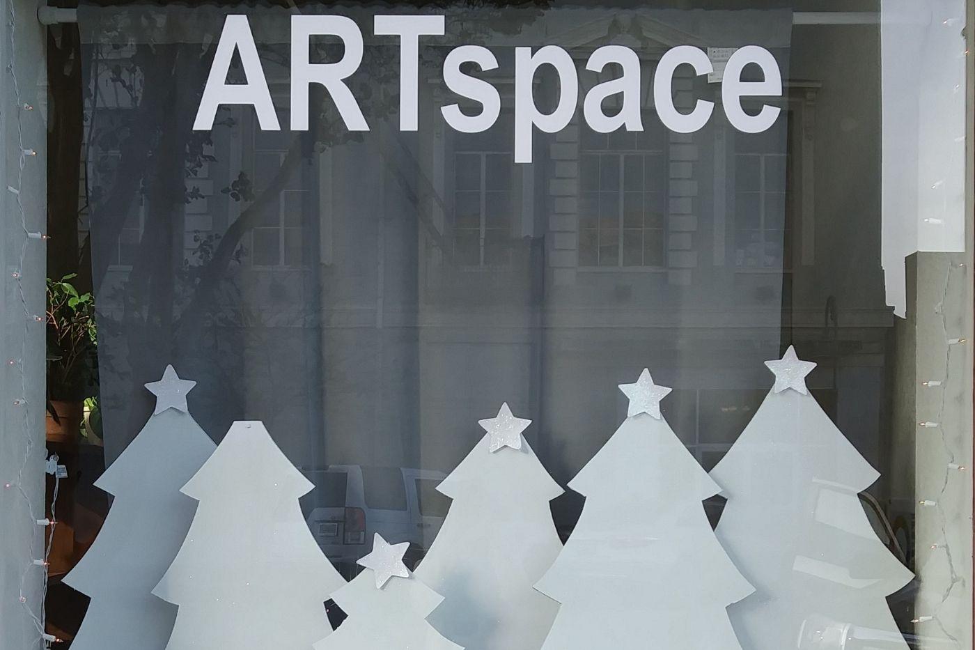 ARTspace Winter Windows