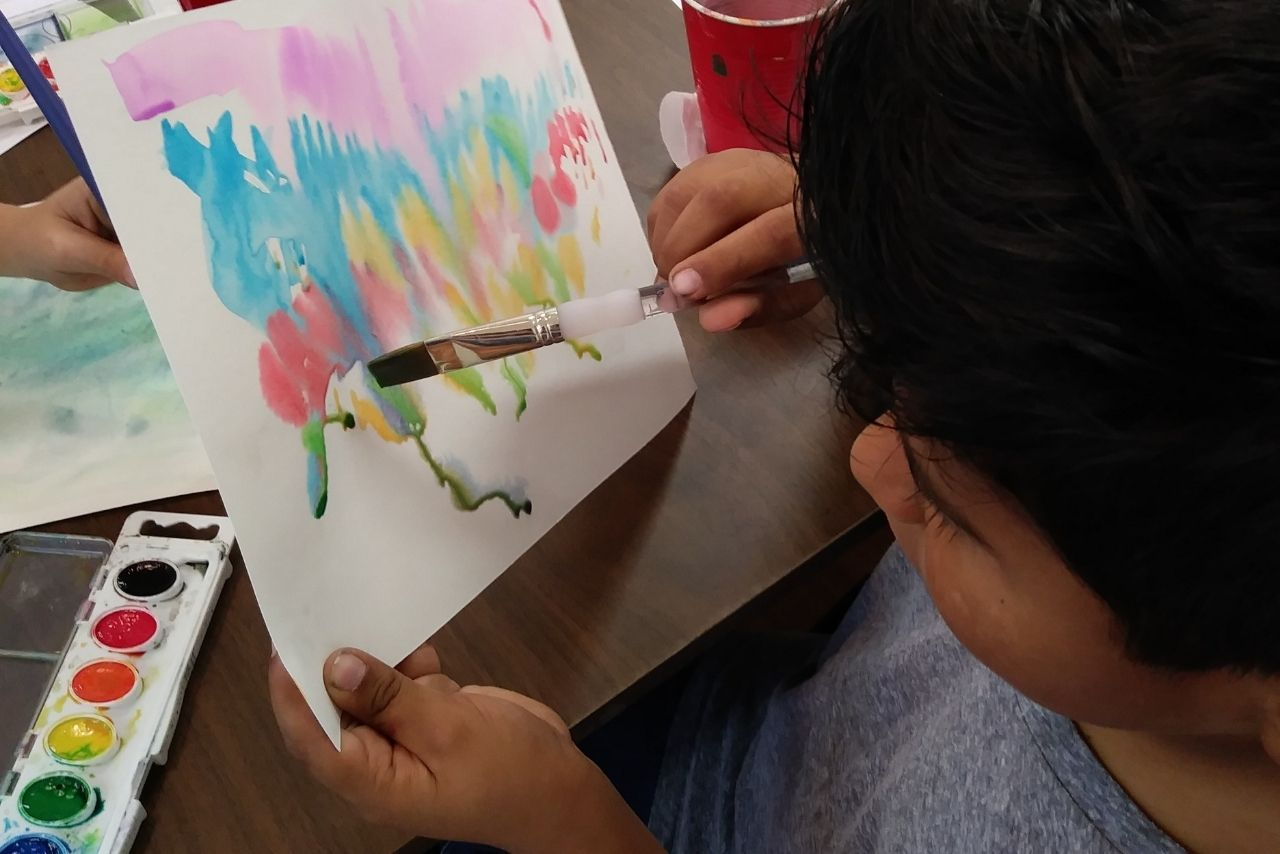 Youth Art Studio Watercolor