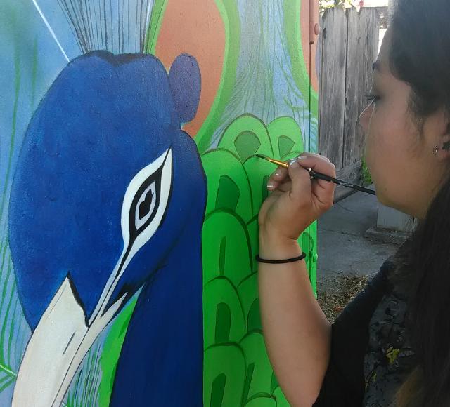 Artist Danae Parra