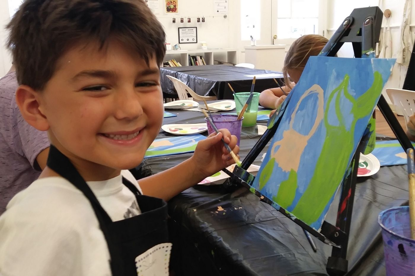 Paint Party Summer Art Camp
