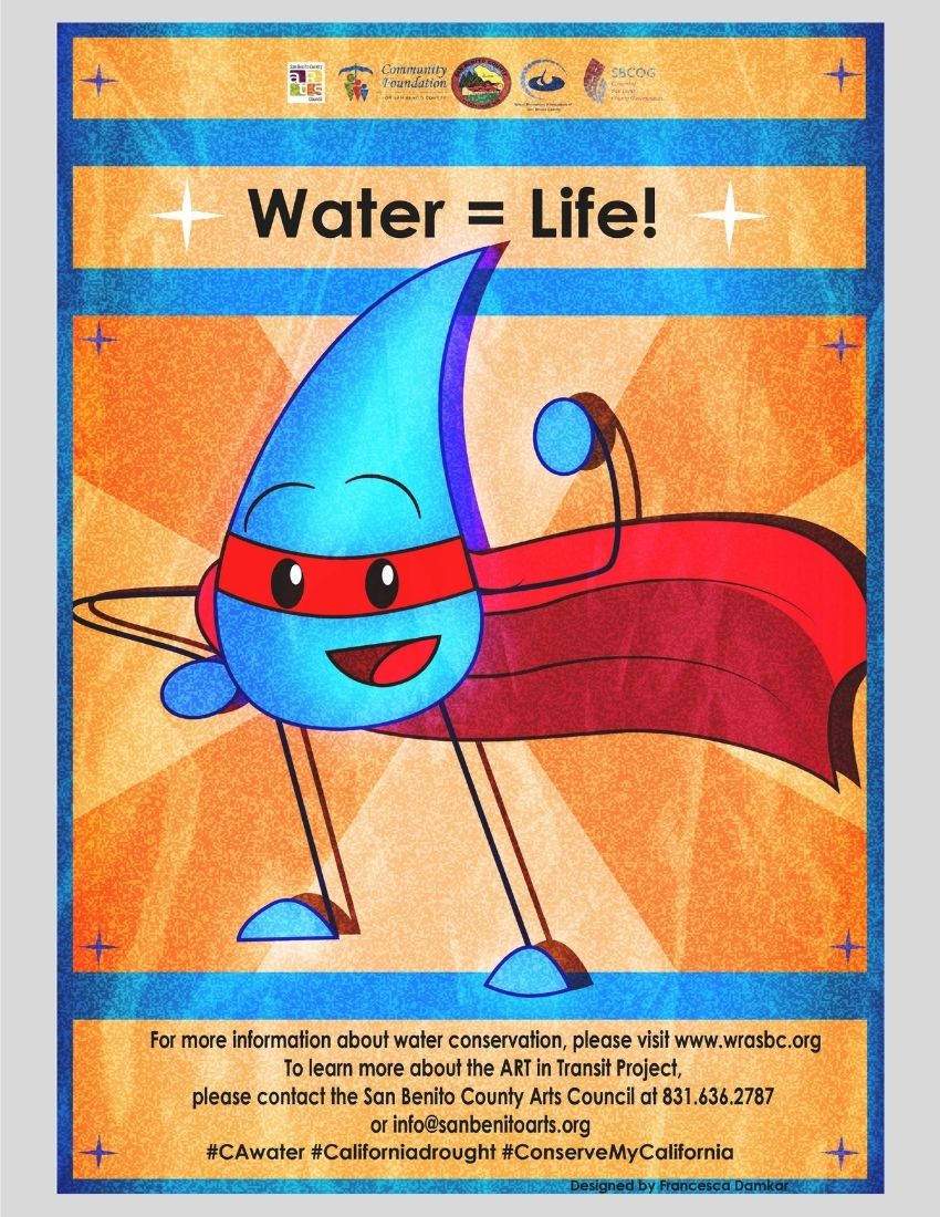 Superdrop Water Conservation Poster