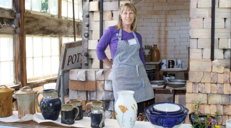 Jane Rekedal Pottery Open Studios 2021